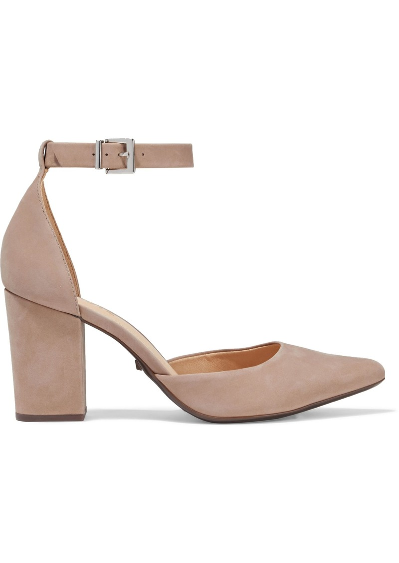 Schutz Woman Suede Pumps Neutral