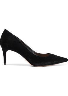 Schutz Woman Velvet Pumps Black