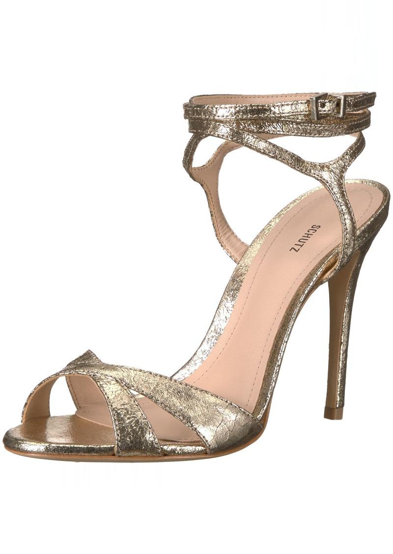 SCHUTZ Women's ATHANY Heeled Sandal   M US