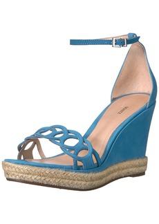SCHUTZ Women's Keira Espadrille Wedge Sandal   M US