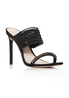SCHUTZ Women's Kimber High Heel Slide Sandals