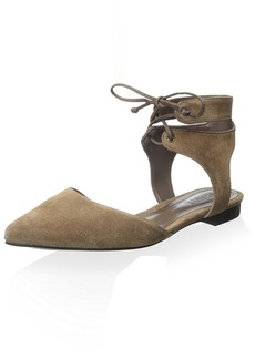 SCHUTZ Women's Lace up Flat Sandal