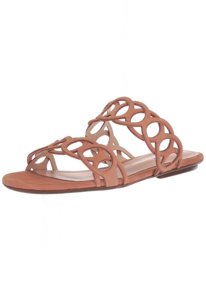 SCHUTZ Women's YASLIN Slide Sandal Toasted nut  M US