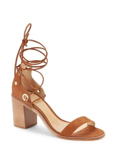 Schutz Zion Lace-Up Leather Sandals