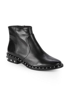 SCHUTZ Studded Leather Boots