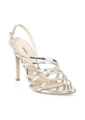 SCHUTZ Taila Metallic Strappy Sandals