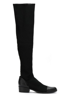SCHUTZ thigh high stretch boots