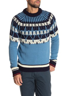 Scotch & Soda AMS Blauw Brushed Sweater