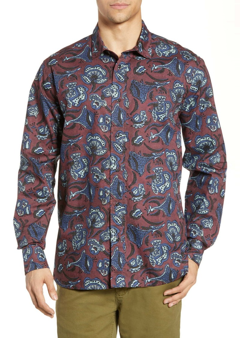 Scotch & Soda Batik Print Shirt