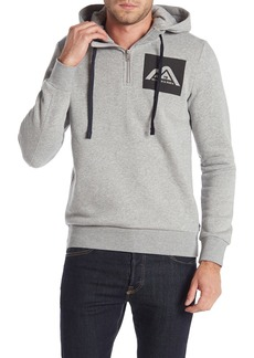 Scotch & Soda Brand Logo Hooded Sweatshirt