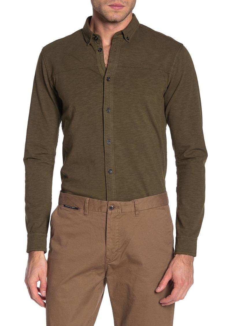 Scotch & Soda Button-Front Knit Shirt