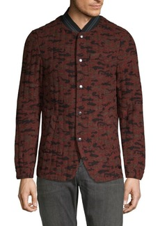 Scotch & Soda Camouflage Quilted Blazer