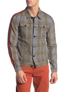 Scotch & Soda Checkered Print Trucker Jacket
