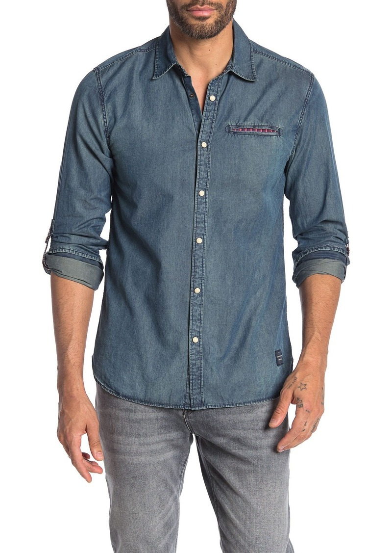 Scotch & Soda Classic Chambray Regular Fit Shirt