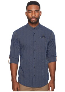 Scotch & Soda Classic Shirt with Fixed Pocket and Sleeve Collectors