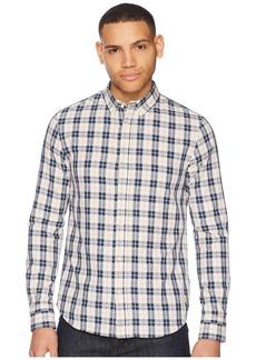 Scotch & Soda Classic Twill Shirt in Yarn-Dyed Check Pattern