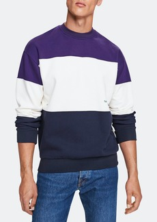 Scotch & Soda Colorblocked Crewneck Long Sleeve Sweatshirt - S