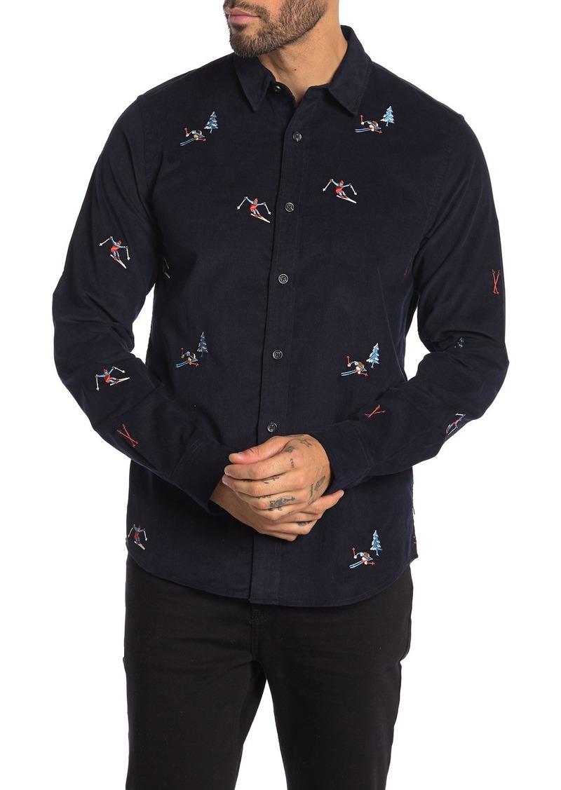 Scotch & Soda Corduroy Regular Fit Shirt