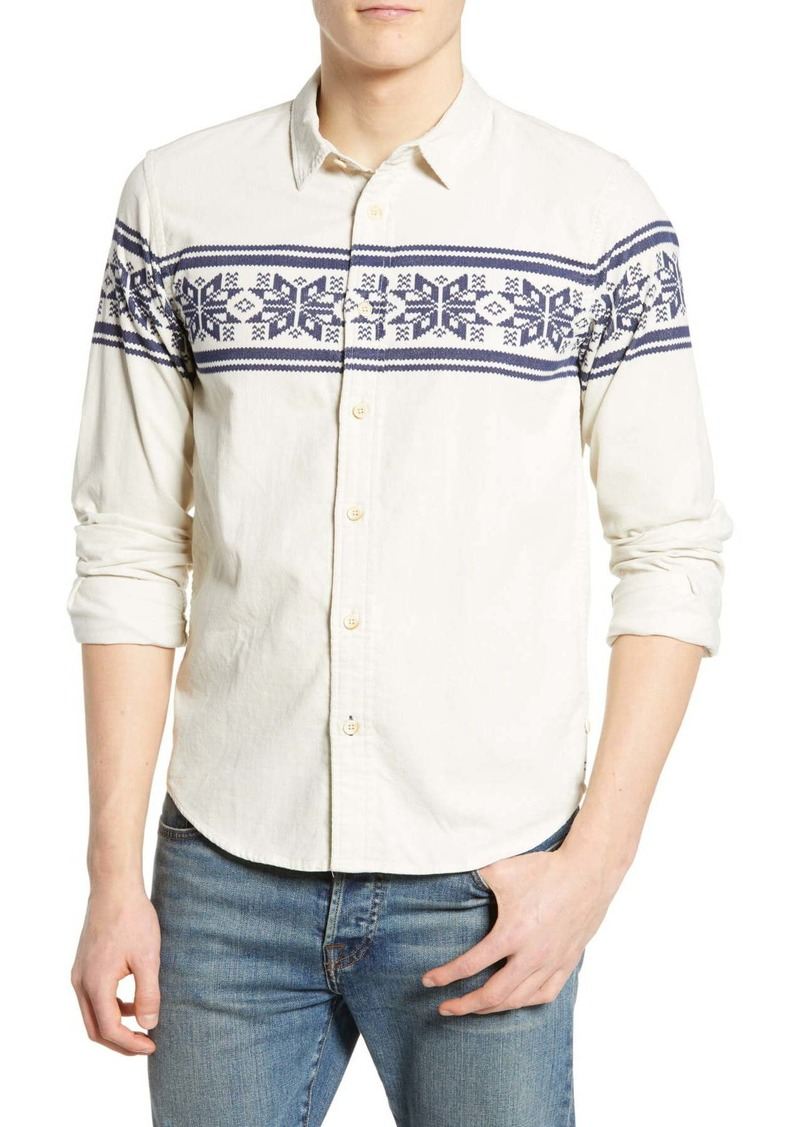 Scotch & Soda Corduroy Regular Fit Shirt