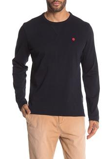 Scotch & Soda Crew Neck Long Sleeve T-Shirt