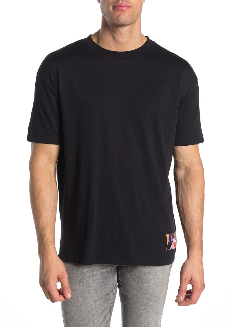 Scotch & Soda Crew Neck Short Sleeve T-shirt