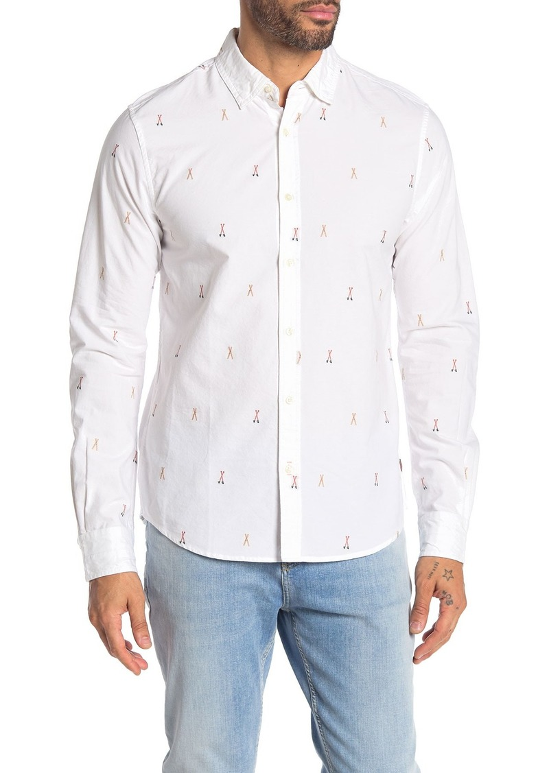 Scotch & Soda Fil Coupe Regular Fit Shirt
