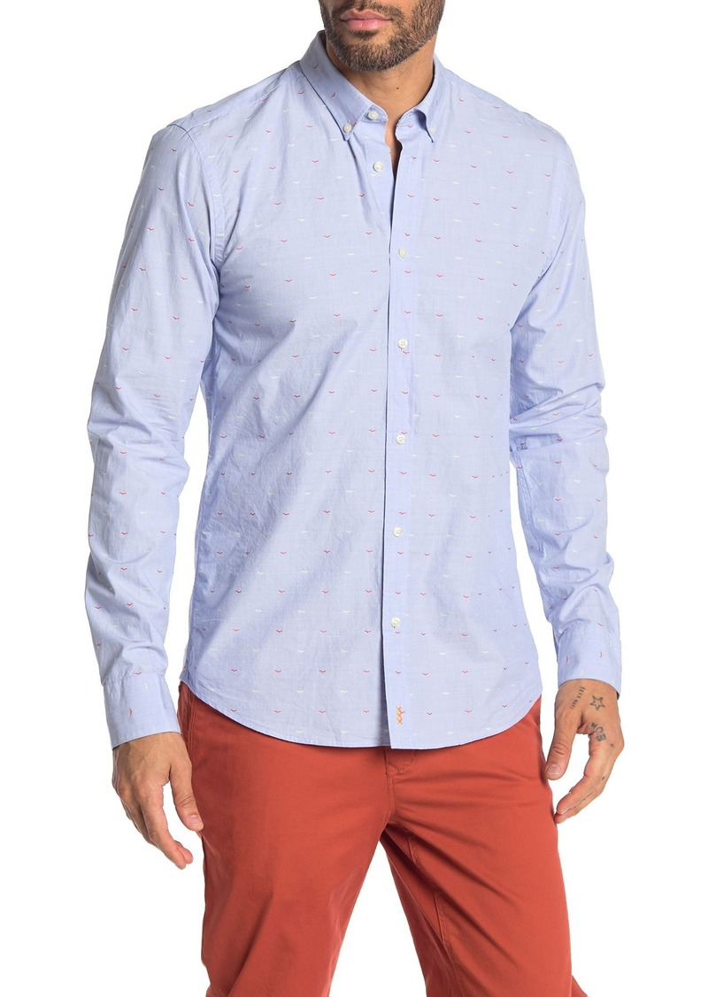 Scotch & Soda Fil Coupe Regular Fit Shirt