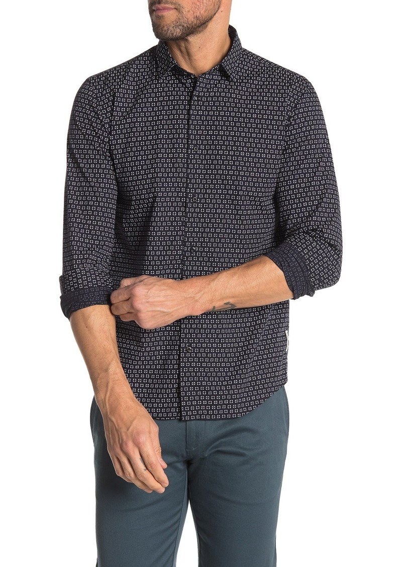Scotch & Soda Geo Print Regular Fit Shirt