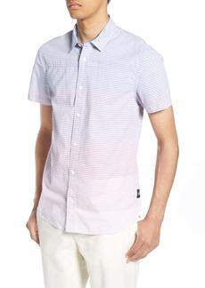 Scotch & Soda Gradient Stripe Woven Shirt