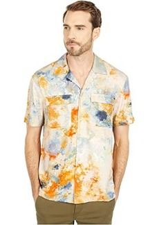 Scotch & Soda Hawaii Fit All Over Printed Viscose Short Sleeve Shirt