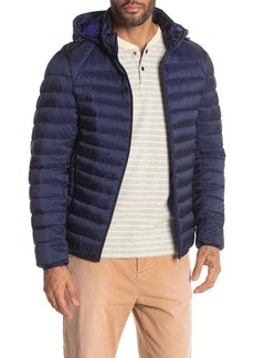Scotch & Soda Hooded Packable Puffer Jacket