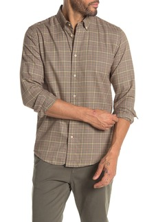 Scotch & Soda Houndstooth Plaid Regular Fit Shirt