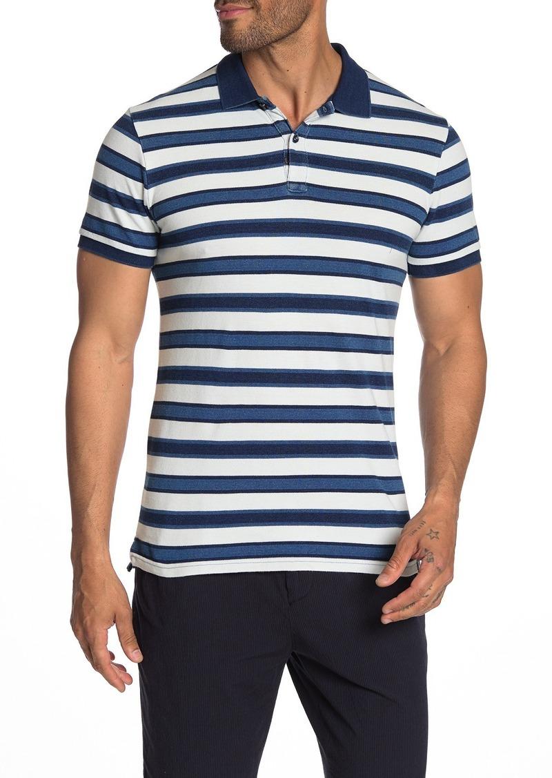 Scotch & Soda Indigo Pique Polo Shirt