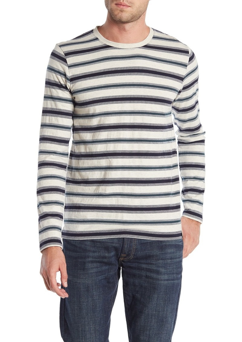Scotch & Soda Jacquard Long Sleeve T-Shirt