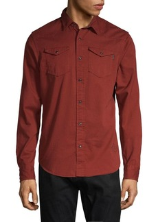 Scotch & Soda Long-Sleeve Button-Front Shirt
