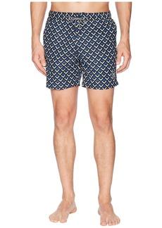 Scotch & Soda Medium length Mini-Motif Swim Shorts