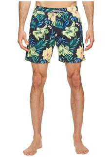 Scotch & Soda Medium Length Swim Shorts in Cotton/Nylon Quality with All Over