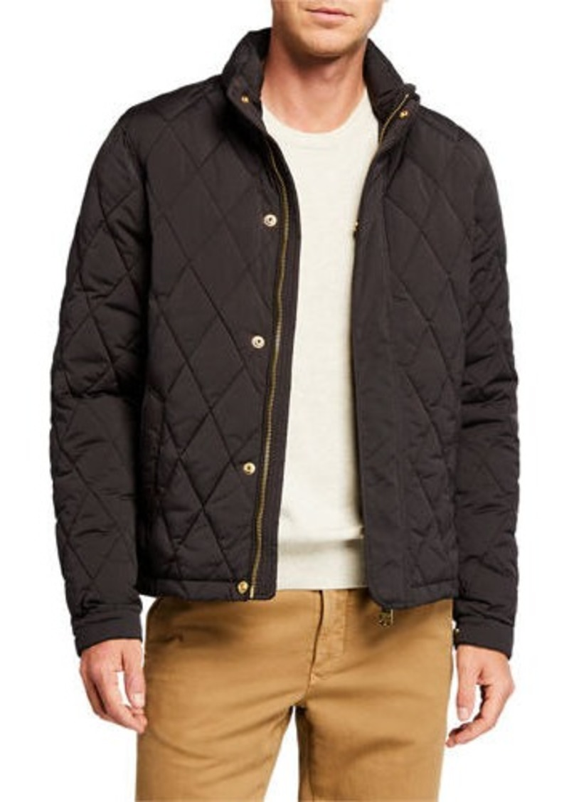 Scotch & Soda Men's Classic Quilted Hooded Jacket