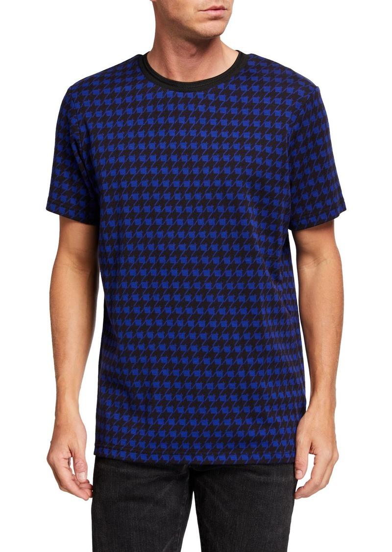 Scotch & Soda Men's Jacquard-Print T-Shirt