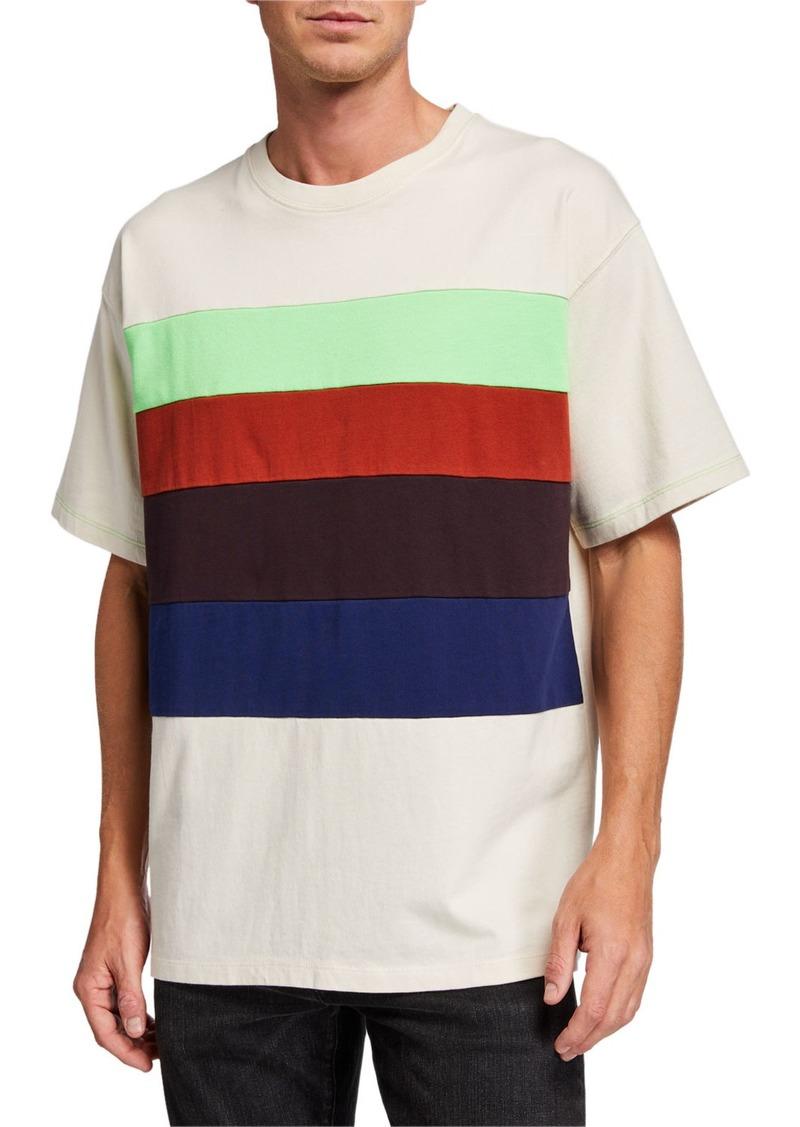 Scotch & Soda Men's Lot 22 Colorblock Graphic T-Shirt