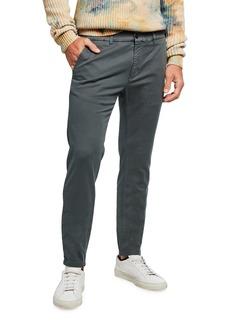 Scotch & Soda Men's Mott Garment Dyed Twill Chino Pants