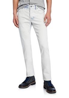 Scotch & Soda Men's Ralston Acid-Wash Slim-Straight Jeans