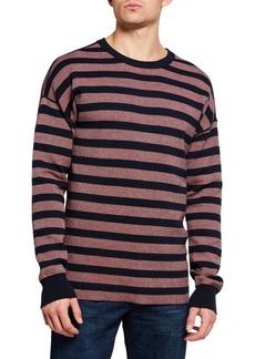 Scotch & Soda Men's Reversible Crewneck Pullover Sweater