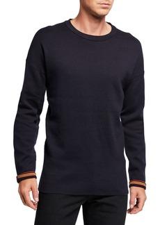 Scotch & Soda Men's Reversible Drop-Shoulder Sweater