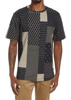 Men's Scotch & Soda All Over Printed Cotton T-Shirt