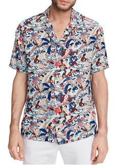 Men's Scotch & Soda Hawaii Button-Up Camp Shirt