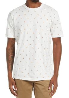 Men's Scotch & Soda Men's Neat Diamond Print T-Shirt