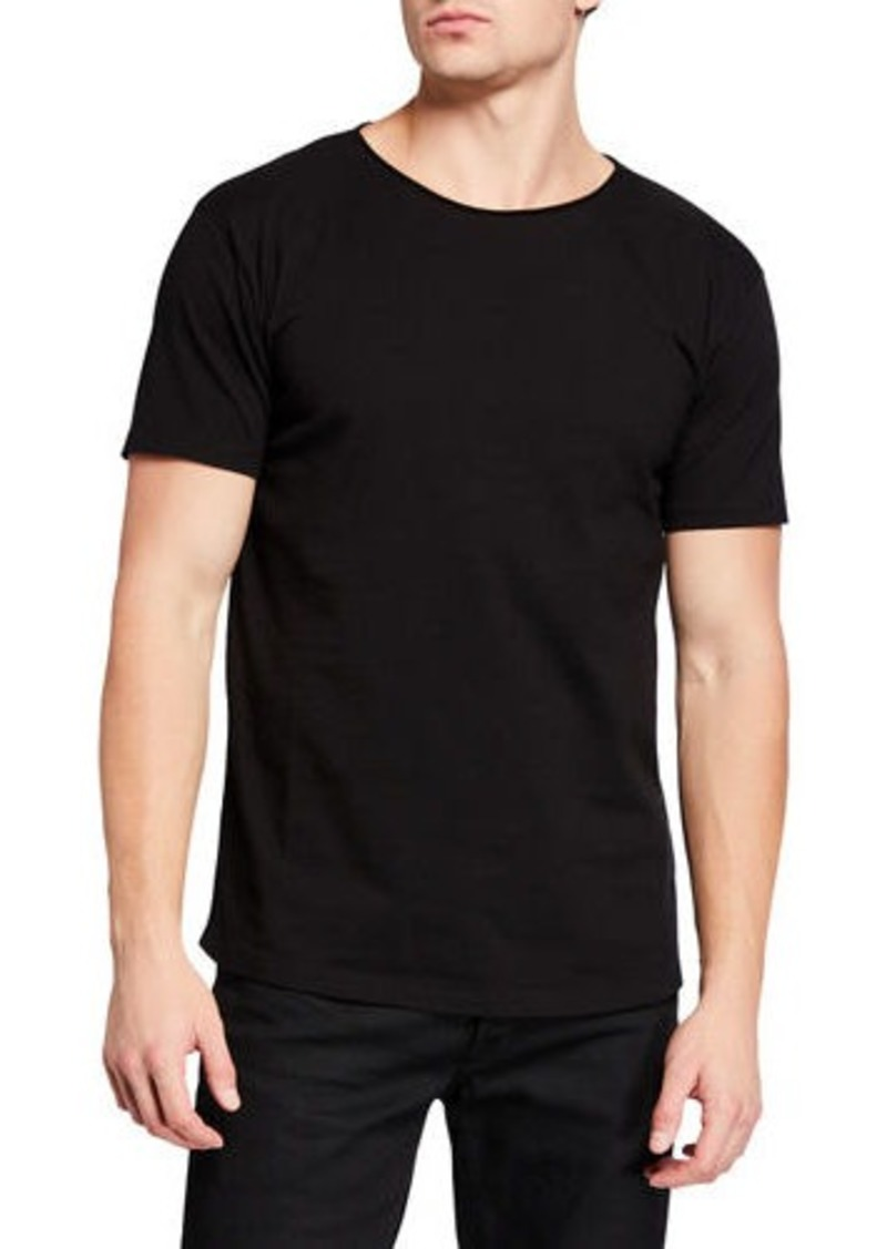 Scotch & Soda Men's Solid Organic Cotton T-Shirt