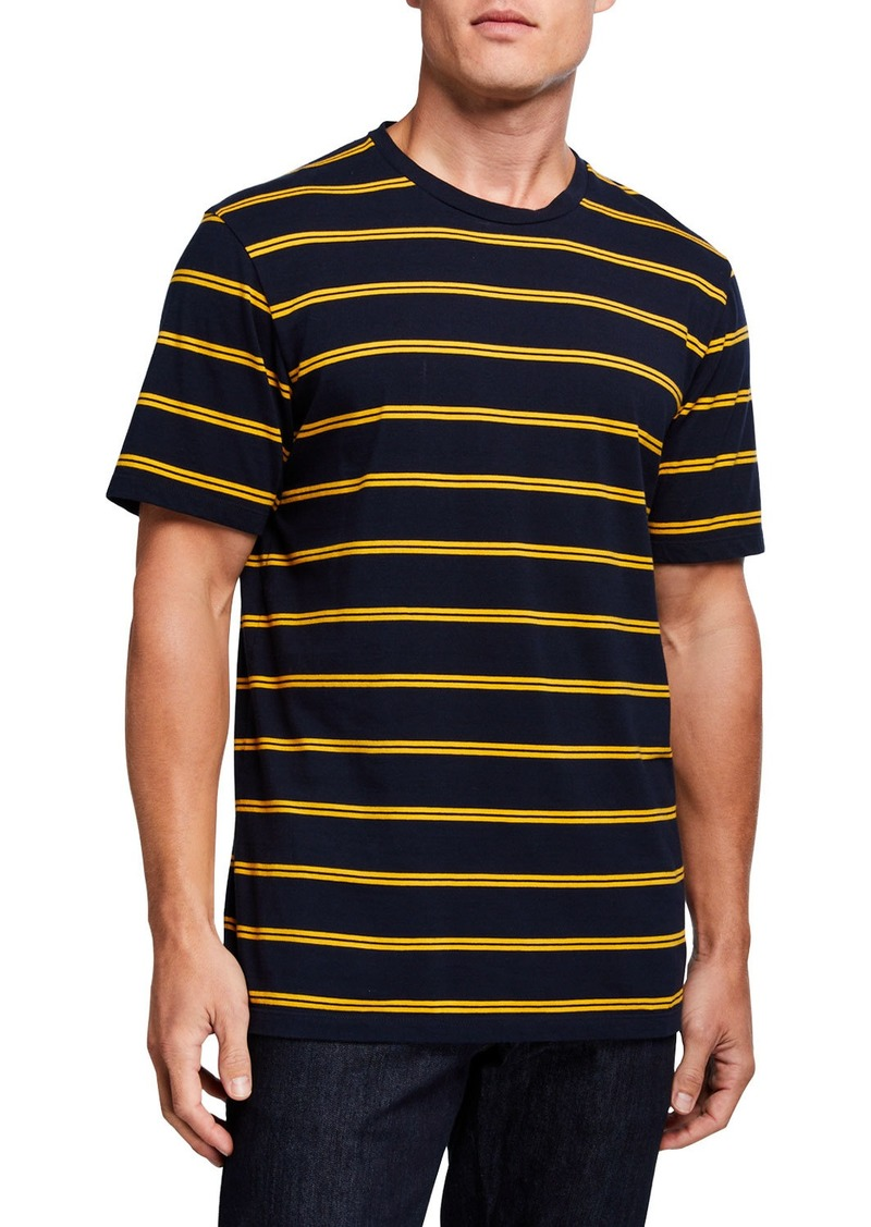 Scotch & Soda Men's Striped Classic Jersey Crewneck T-Shirt