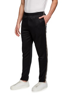 Scotch & Soda Men's Tapered Sweatpants w/ Piping